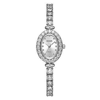 Premium Megir Ladies Round Quartz Analogue Luxury Watch Silver Smart Watches UK
