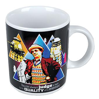 Seventh Doctor Judge A Man by the Quality of his Enemies Mug
