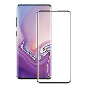 Näytön suoja karkaistu lasi 2,5 D Samsung S10E läpinäkyvä musta