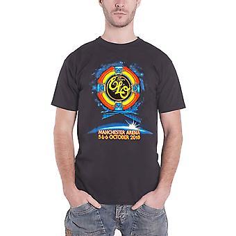 ELO T Shirt Manchester Arena Event 2018 Tour Band Logo new Official Mens Black