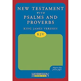 KJV New Testament with Psalms and Proverbs (Hendrickson Bibles)