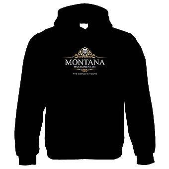 Montana Management Scarface film inspirert, hettegenser-80s gave ham henne mamma pappa