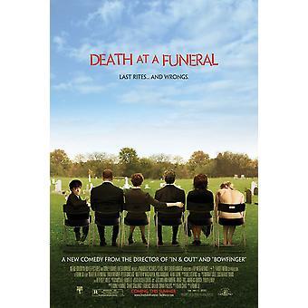 Morte a un funerale (Doppio lato regolare) (2007) Poster originale del cinema