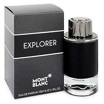Montblanc Explorer door Mont Blanc Eau de parfum spray 3,4 oz (mannen) V728-545976