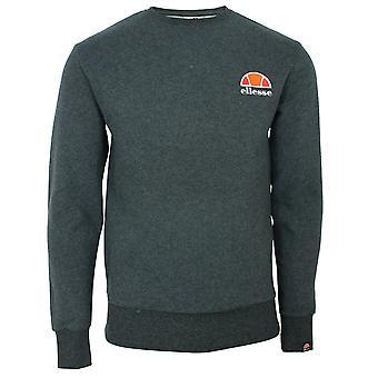 Ellesse men's dark grey marl diveria sweatshirt