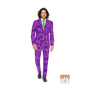 Le costume du Joker Batman Joker HaHa Opposuit slimline Premium 3 pièces costume UE tailles