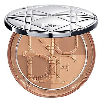 Christian Dior Diorskin mineraali alaston terve hehku Bronzing jauhe 04 lämmin auringon nousu 0,35 oz/10g