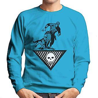 The Phantom & Wolf Running Men's Sweatshirt