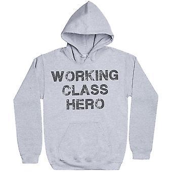Arbetarklassens hjälte-mens hoodie