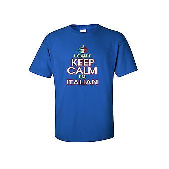 Mænd ' s sjovt jeg kan ' t holde ro jeg ' m italiensk kortærmet t-shirt