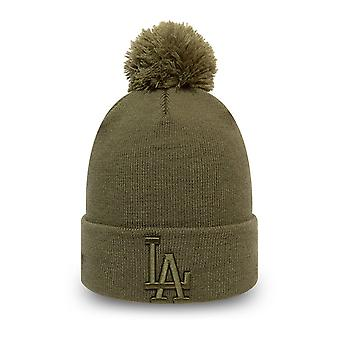 New Era KIDS Beanie winter hat - LA Dodgers olive