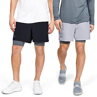 Under Armour Mens 2019 Qualifier 2-In-1 Shorts