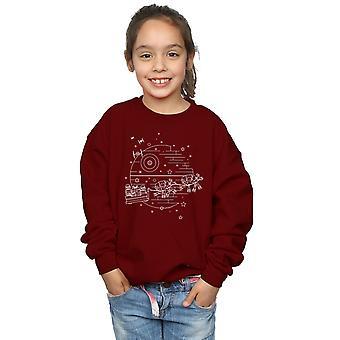 Star Wars Girls Death Star Sleigh Sweatshirt