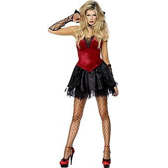 Fièvre de Vixen Vamp Costume, UK robe 12-14
