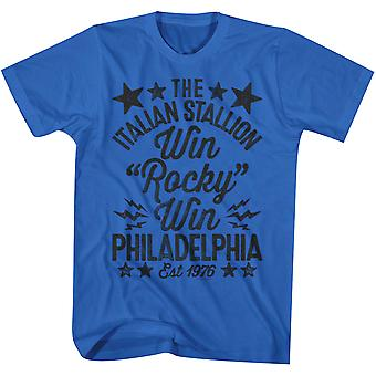 American Classics Rocky Win T-Shirt - Royal