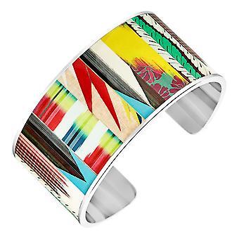 Bracelet Christian Lacroix Bijoux XF11005L - Bracelet Rigide M�tal Argent� et Email Femme