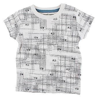Malé Hadry Béžové Boys T-Shirt stínování