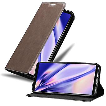 Futerał Cadorabo do obudowy Sony Xperia 1 - futerał na telefon z magnetycznym zapięciem, funkcją stojaka i komorą na kartę - Obudowa ochronna Case Case Book Folding Style