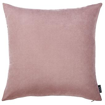 Set of 2 Mauve Pink Brushed Twill Decorative Throw Pillow Covers
