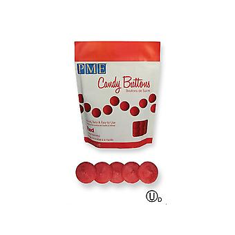 PME Candy Buttons Melts - 12oz 340g - Rouge