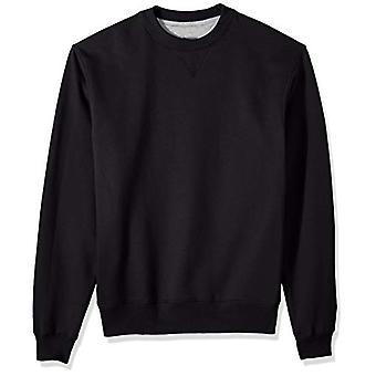 Champion Hommes-apos;s Cotton MAX Fleece Crew, Noir, 2X Large, Noir, Taille XX-Large