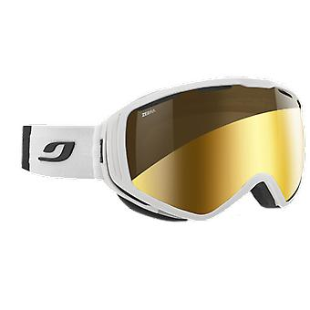Julbo Ski Mask Titan White Zebra Flash Gold