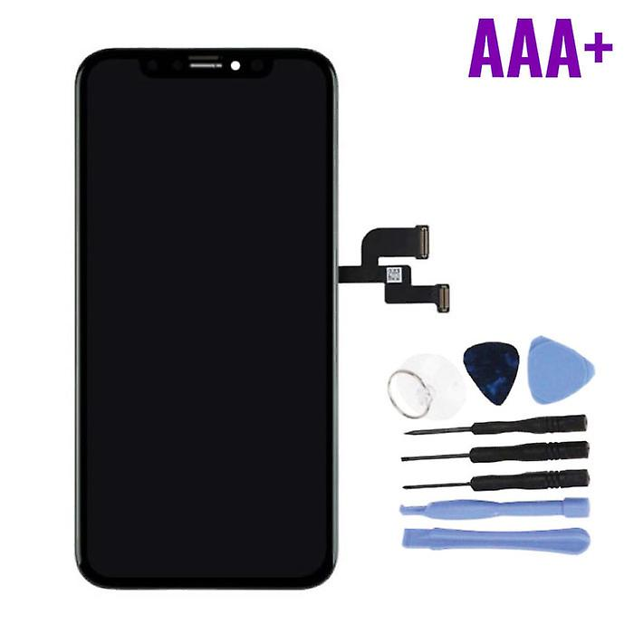Stuff Certified® iPhone XS Screen (Touchscreen + OLED + Parts) AAA + Quality - Black + Tools