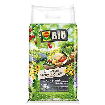 COMPO BIO Universal Pitkäaikainen lannoite lampaanvillalla, 10,05 kg