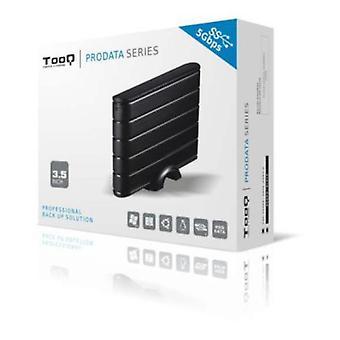 Externe Box TooQ TQE-3530B HDD 3,5-inch SATA III USB 3.0 zwart