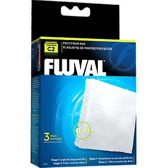 Fluval FLUVAL C2 FOAMEX/POLIESTER (Fish , Filters & Water Pumps , Filter Sponge/Foam)