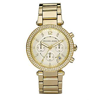 Michael Kors Ladies' Parker Watch - MK5354 - Gold