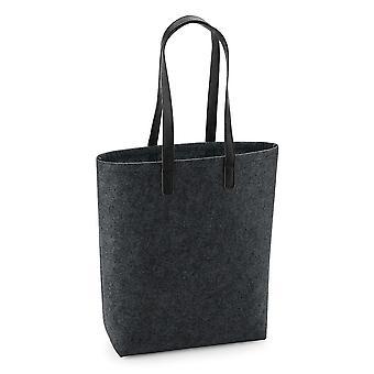 Bagbase Voksne Unisex Premium Filt Tote