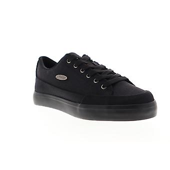 Lugz Colony CC  Mens Black Canvas Low Top Lifestyle Sneakers Shoes