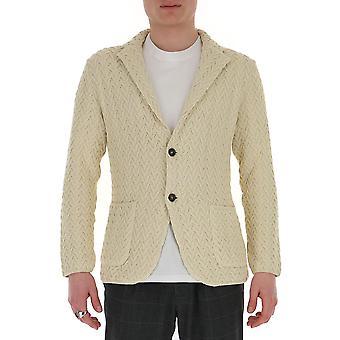 Lardini Eiljm22ei54007100 Men's White Cotton Blazer