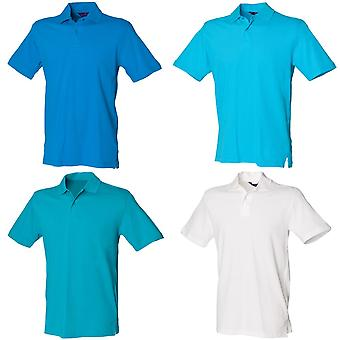 Henbury unisexe Slim Fit Stretch Pique Polo Shirt
