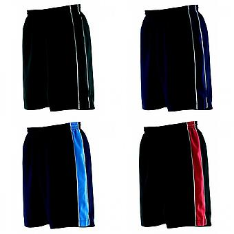 Finden & Hales Childrens Unisex Contrast Sports Shorts