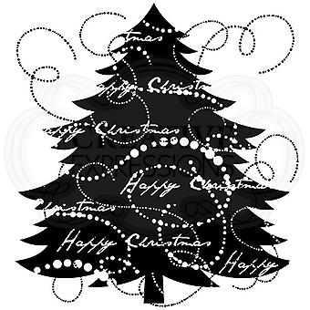Woodware Polymer Stamp Clear Singles Fir Tree
