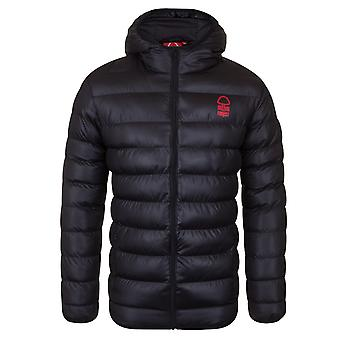 Nottingham Forest FC Official Football Gift Mens Quilted Hooded Winter Jacket