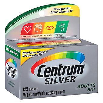 Centrum silver adults 50+ multivitamin, tablets, 125 ea