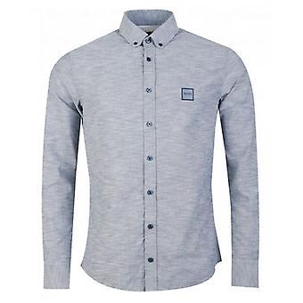 BOSS Mabsoot Long Sleeved Oxford Shirt