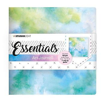Studio Light Art Journal 16x16 cm Essentials nr.01 JOURNALSL01
