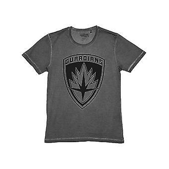 Wächter der Galaxie gewaschen Logo Männer T-Shirt