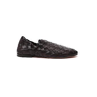 Bottega Veneta 620304vbtr02113 Mannen's Brown Leather Loafers