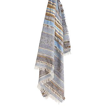 Sandwich Clothing Textured Metallic Stripe Scarf