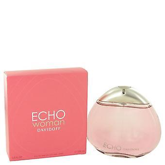Echo Eau De Parfum Spray av Davidoff 3,4 oz Eau De Parfum Spray