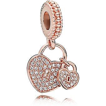 Pendentif Pandora 781807CZ - Pendentif Cadenas Amour Femme