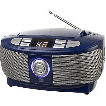 Dual P 49-1 Radio CD-speler FM CD Blauw