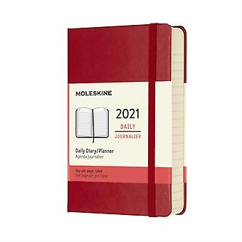 2021 12M Daily Ntbk Pock Scarlet Red HD