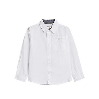 Esprit Boys' Cotton Shirt With A Breast Pocket