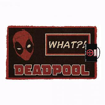 Deadpool Mitä?! 17&x 29&Ovimatto liukumaton selkä
